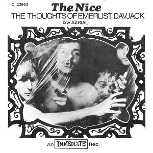 The Nice - The Thoughts Of Emerlist Davjack (single) CD (album) cover