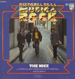 THE NICE - Historia De La Musica Rock CD album cover