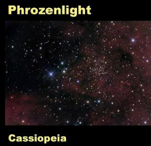 Phrozenlight - Cassiopeia CD (album) cover