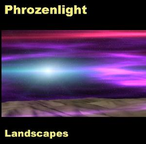 Phrozenlight - Landscapes CD (album) cover