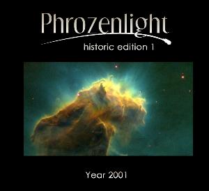 Phrozenlight - Historic Edition 1: Year 2001 CD (album) cover