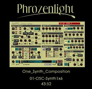Phrozenlight - 01-osc-synth1x6 CD (album) cover