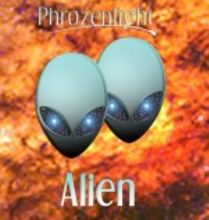 Phrozenlight - Alien CD (album) cover