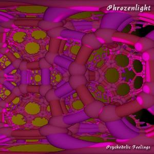 Phrozenlight - Psychedelic Feelings CD (album) cover