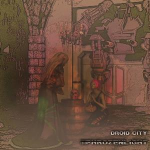 Phrozenlight - Droid City CD (album) cover