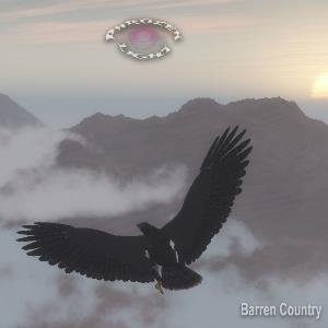 Phrozenlight - Barren Country CD (album) cover