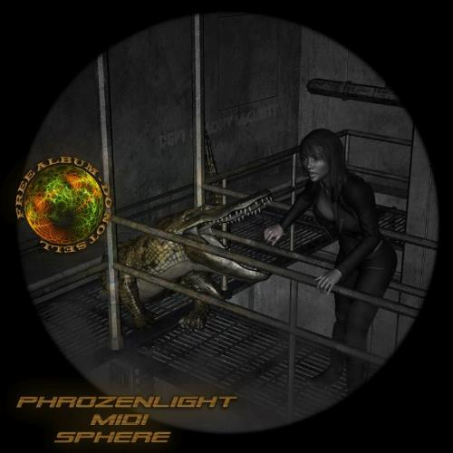 Phrozenlight - Midi Sphere CD (album) cover