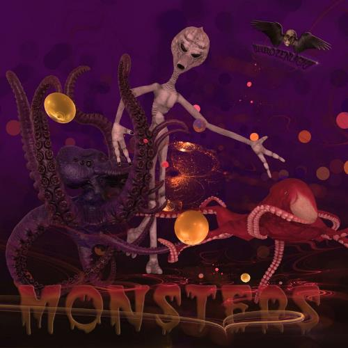 Phrozenlight - Monsters CD (album) cover