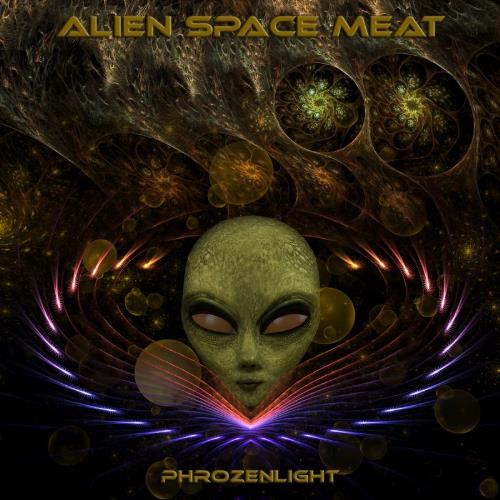 Phrozenlight - Alien Space Meat CD (album) cover