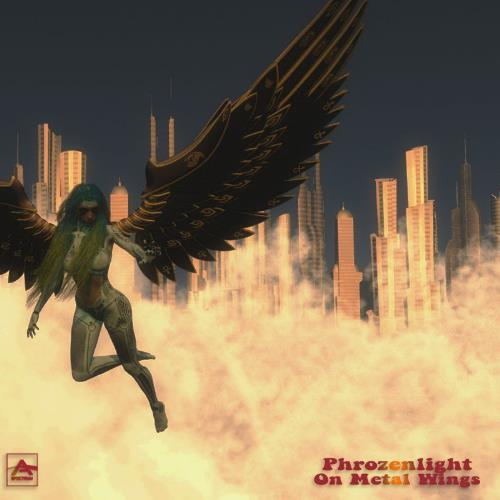 Phrozenlight - On Metal Wings CD (album) cover