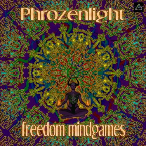 Phrozenlight - Freedom Mindgames CD (album) cover