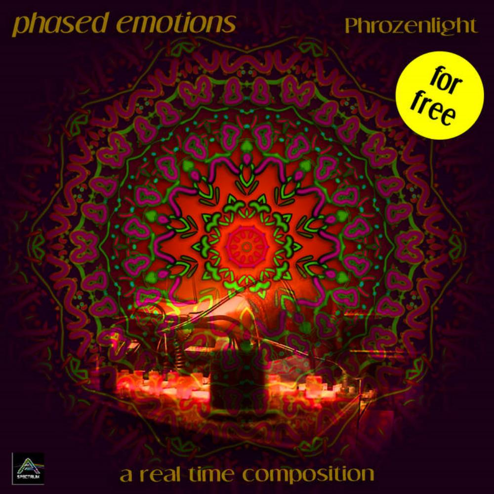 Phrozenlight - Phased Emotions CD (album) cover