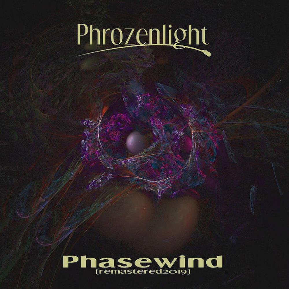 Phrozenlight - Phasewind 2019 (remastered) CD (album) cover