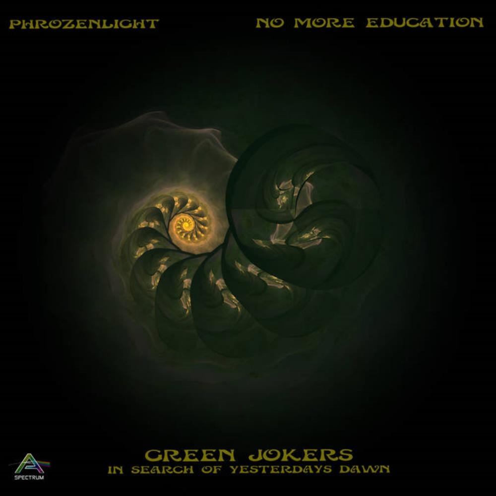 Phrozenlight - No More Education CD (album) cover