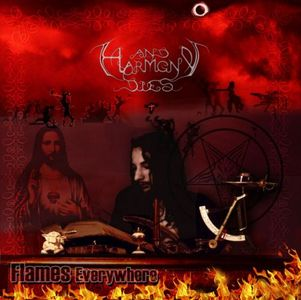 And Harmony Dies - Flames Everywhere CD (album) cover
