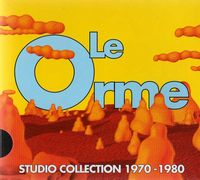 Le Orme - Studio Collection 1970/ 1980 (slim Case Edition) CD (album) cover