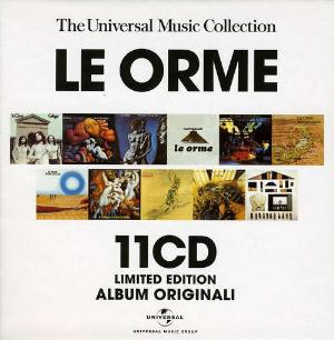 Le Orme - The Universal Music Collection (11 Cd) CD (album) cover