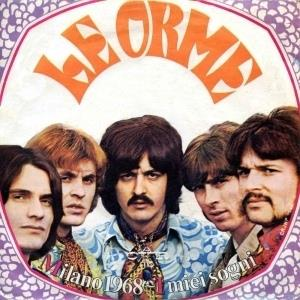Le Orme - Milano 1968 CD (album) cover