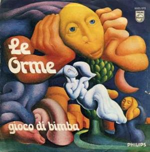 Le Orme - Gioco Di Bimba CD (album) cover