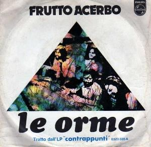 LE ORME - Frutto Acerbo CD album cover