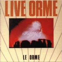 Le Orme - Live Orme CD (album) cover