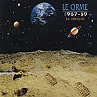 LE ORME - 1967 - 1969 - Le Origini CD album cover