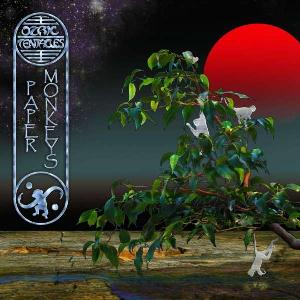 Ozric Tentacles - Paper Monkeys CD (album) cover