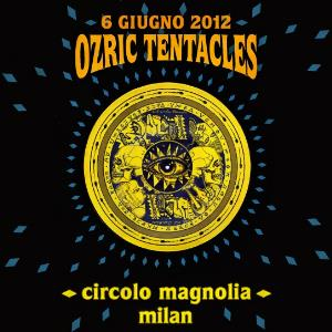 Ozric Tentacles - Live In Milan 2012 CD (album) cover