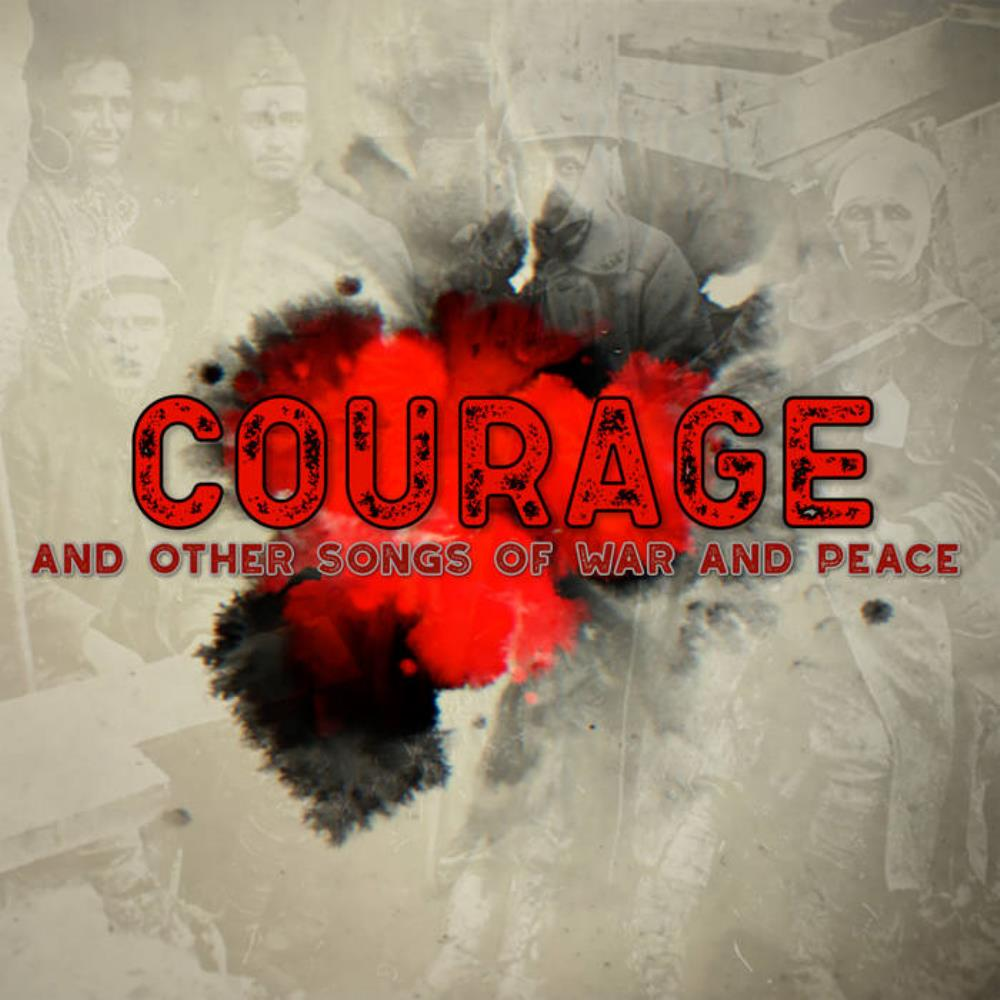 Pallas - Courage - And Other Songs Of War And Peace CD (album) cover