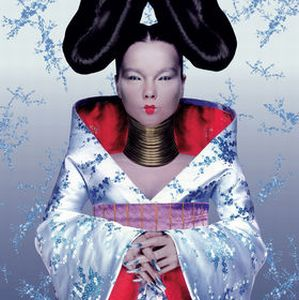 BjÖrk - Homogenic CD (album) cover