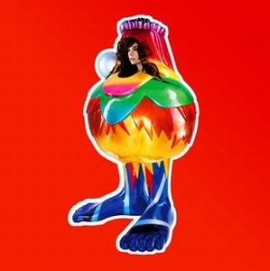BjÖrk - Volta CD (album) cover