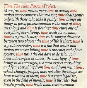 The Alan Parsons Project - Time CD (album) cover