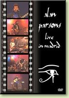 Alan Parsons Alan Parsons Live In Madrid CD album cover
