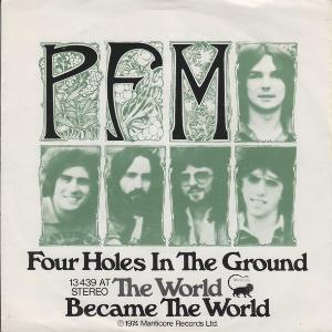 PREMIATA FORNERIA MARCONI (PFM) - Four Holes In The Ground CD album cover