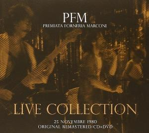 PREMIATA FORNERIA MARCONI (PFM) - Live Collection - 25 Novembre 1980 CD album cover