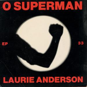 LAURIE ANDERSON - O Superman CD album cover
