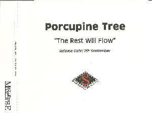 Porcupine Tree - The Rest Will Flow CD (album) cover
