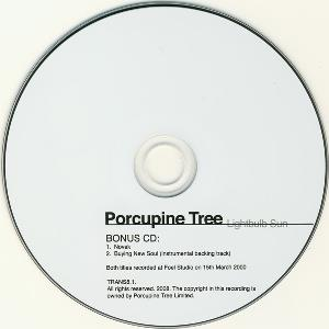 Porcupine Tree - Novak CD (album) cover