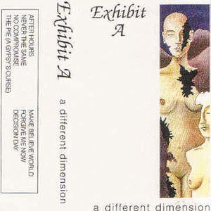 Exhibit A - A Different Dimension CD (album) cover