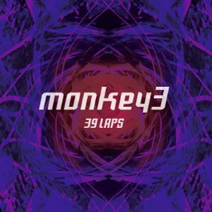 Monkey3 - 39 Laps CD (album) cover