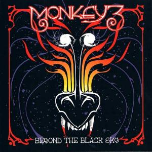 Monkey3 - Beyond The Black Sky CD (album) cover