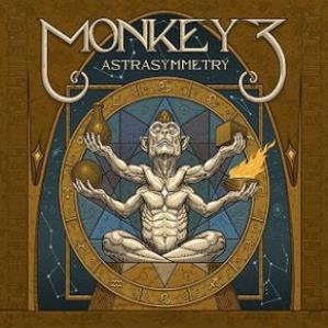 Monkey3 - Astra Symmetry CD (album) cover