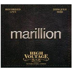 Marillion - High Voltage CD (album) cover
