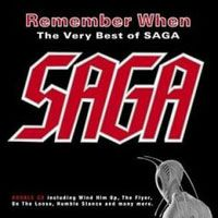 SAGA - Remember When CD album cover