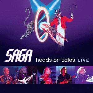 Saga - Heads Or Tales Live CD (album) cover