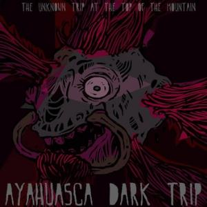 Ayahuasca Dark Trip - The Unknown Trip At The Top Of The Mountain CD (album) cover