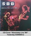 S.b.b. - Absolutely Live '98 CD (album) cover