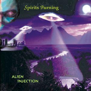 Spirits Burning - Alien Injection CD (album) cover