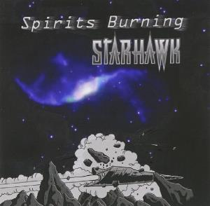 Spirits Burning - Starhawk CD (album) cover