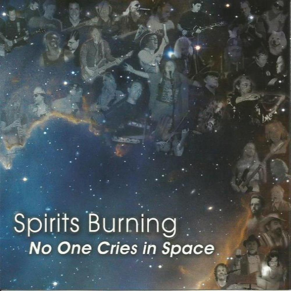 Spirits Burning - No One Cries In Space CD (album) cover